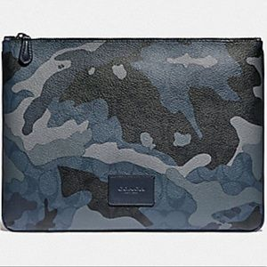 Coach Camouflage Large Tech Pouch